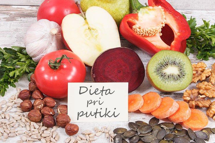 Dieta pri putiki